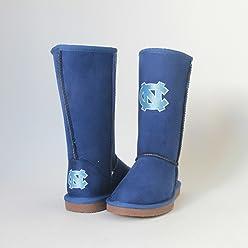 8d0d29c25 Cuce Shoes NCAA North Carolina Tar Heels Women s Varsity Boots