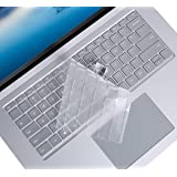 Ultra Thin Clear Keyboard Cover for Microsoft Surface Laptop 3 13.5 Inch and Surface Laptop 3 15 Inch 2019 Release Laptop TPU Keyboard Cover Protective Skin, US Layout