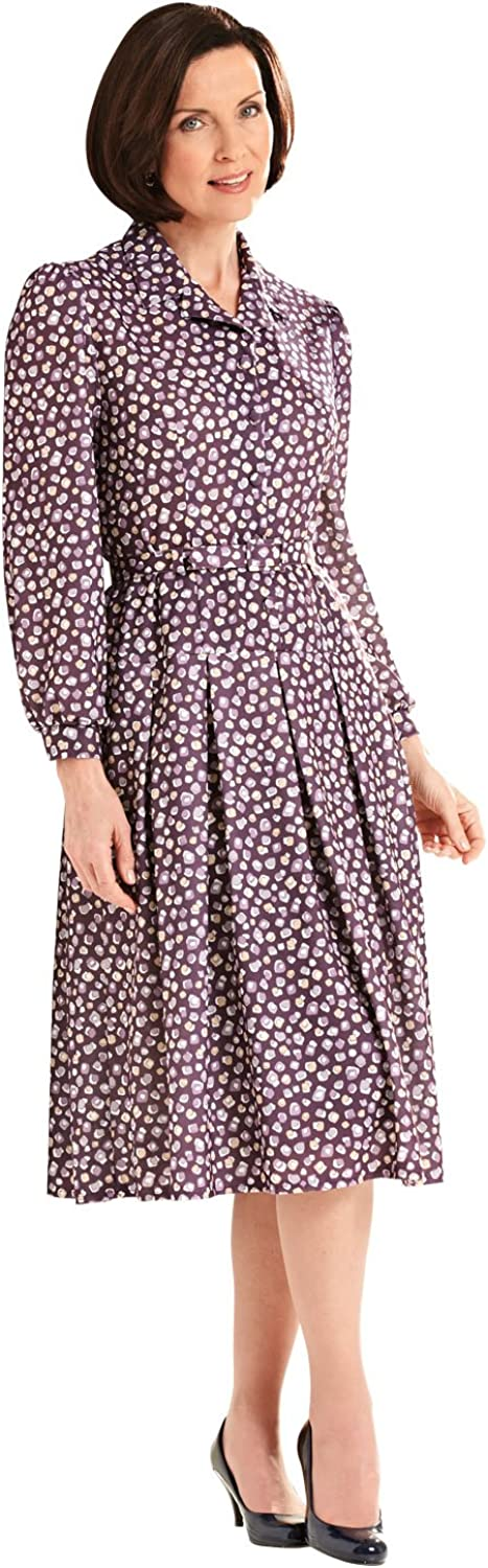 1940s Dresses | 40s Dress, Swing Dress EmilyRose Ladies Womens Drop Waist Dress 40 Inches £47.48 AT vintagedancer.com