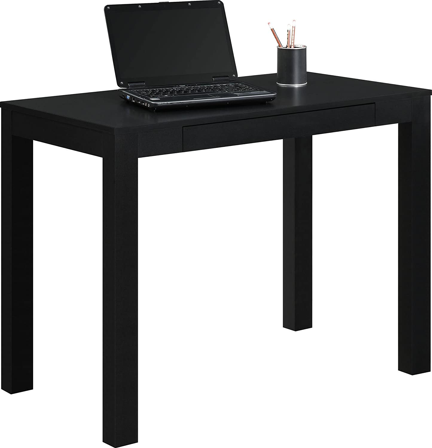 desks for office at home. Simple For Ameriwood Home Parsons Desk With Drawer Inside Desks For Office At