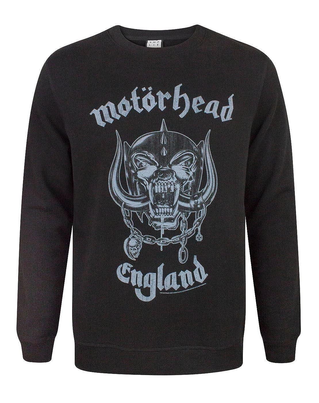 Amplified Motorhead England Men& 039;s Sweatshirt