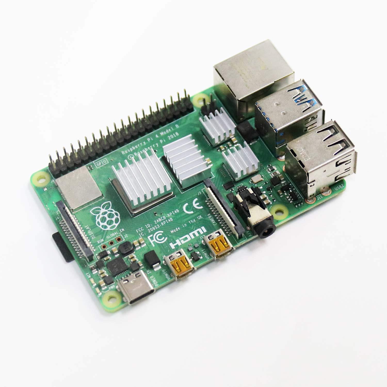 2//3//4 20 PCS Raspberry Pi 4 Heatsink Kit with Thermal Conductive Adhesive Tape Pastall Aluminum Heatsink for Raspberry Pi B B