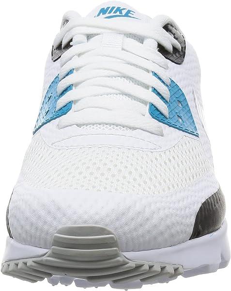 White Shoes Air Max 90 Ultra Essentials Light Blue (819474 101) 41