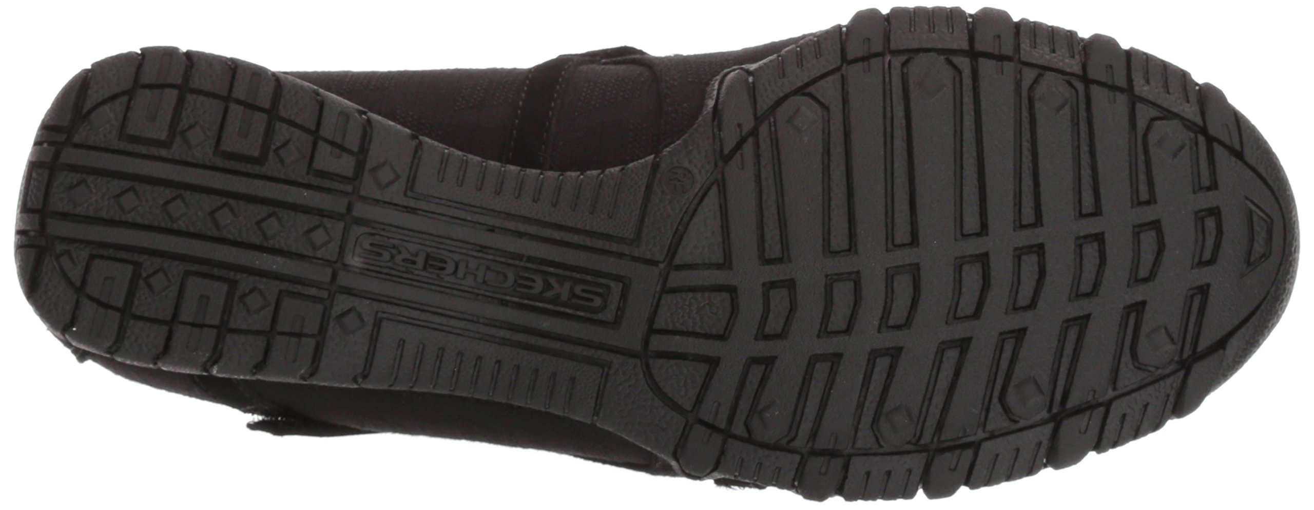Skechers Women's Bikers -Fiesta Mary Jane Flat,7 M US,Black by Skechers (Image #3)