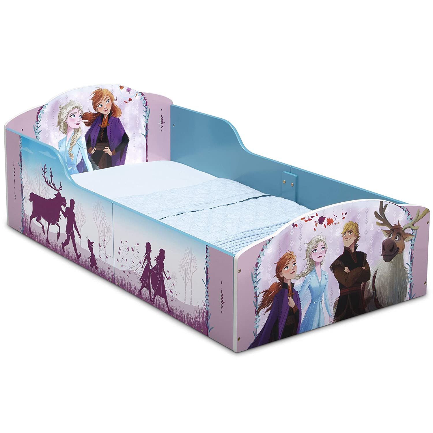 Delta Children Wood Toddler Bed, Disney Frozen II (BB81453FZ-1097)