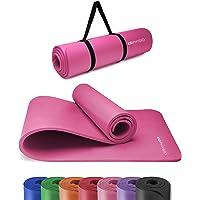 KG Physio Yoga Mat - Ekologiczna antypoślizgowa mata do ćwiczeń TPE z paskiem do maty do jogi w zestawie - Idealna do…