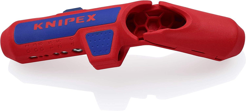 KNIPEX ErgoStrip Pelacables universal (135 mm) 16 95 01 SB
