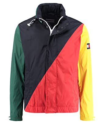Tommy Hilfiger MW0MW04946 Colorblock Sailing Abrigos Y Chaquetas, Y Cazadoras Hombre L: Amazon.es: Ropa y accesorios