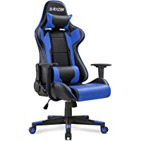 Homall Gaming Chair Office Chair High Back Computer Chair Leather Desk Chair Racing Executive Ergonomic Adjustable…