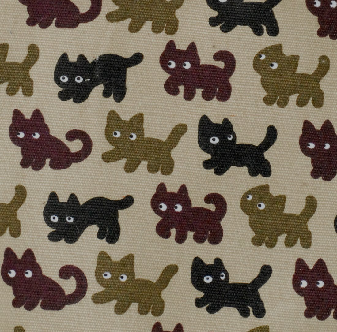 K&H Pet Products Kitty Sill Deluxe with Bolster Tan Kitty Print 14'' x 24''