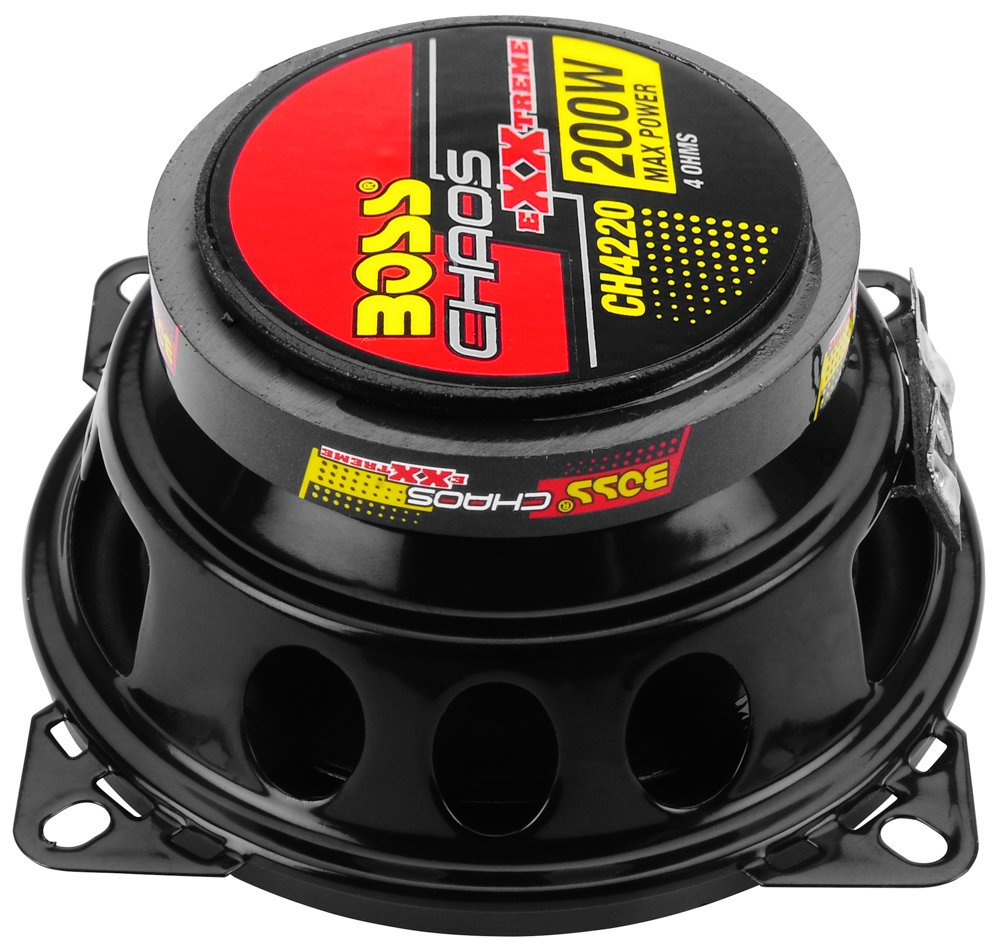 BOSS Audio CH4220 Chaos Exxtreme 200-watt 2 Way auto 4 Coaxial Speaker