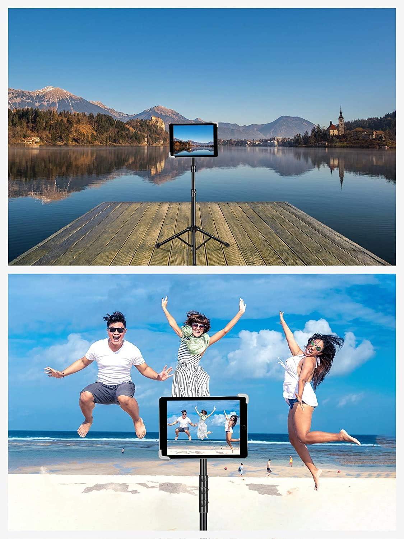 Tablet Halter Stativ f/ür IPad Pro 12,9// 11 Luxtude Tablet Stativ IPad Air 10,5 iPhone und andere Ger/äte von 4-14.5 Zoll IPad 9,7 h/öhenverstellbare 20 bis 60 Zoll Tablet Halterung stativ