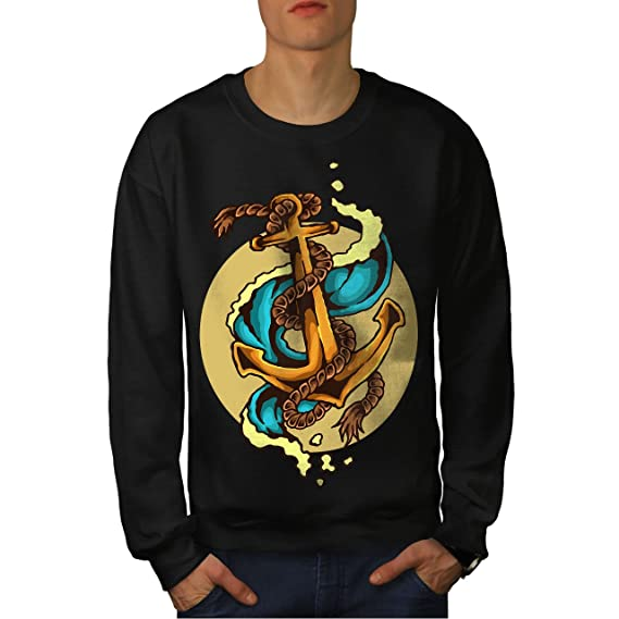 Homme Mer Ancre Mode 7xl Marin Wellcoda Shirt S Sweat w6xUEIHdq