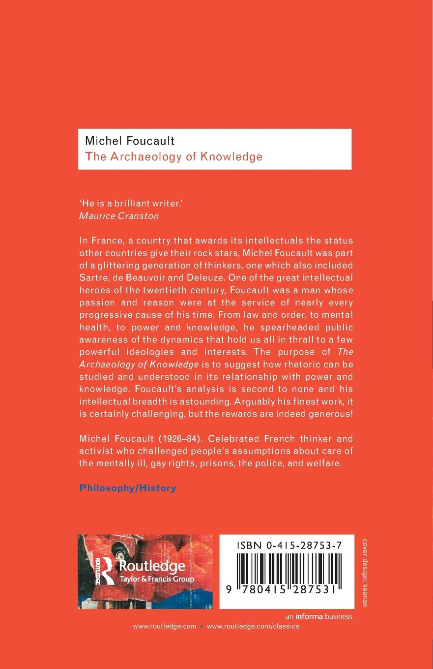 foucault archaeology of knowledge summary