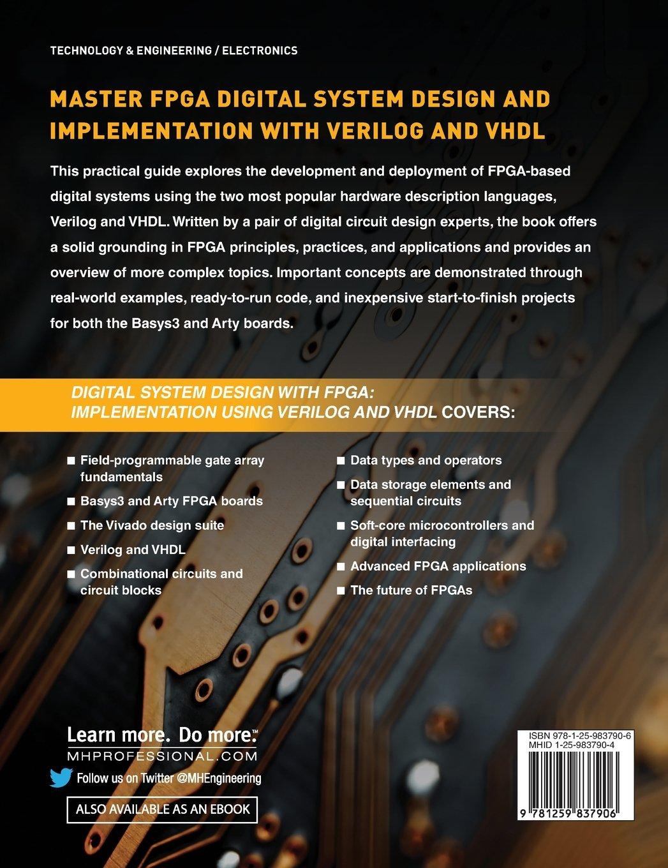 Digital System Design with FPGA: Implementation Using Verilog and