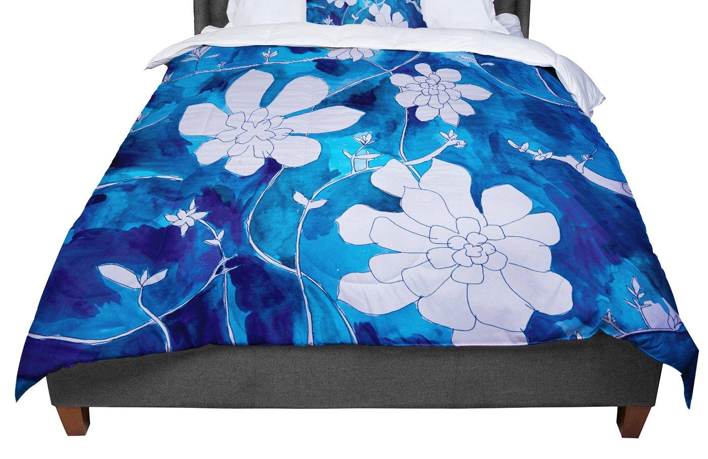KESS InHouse Theresa Giolzetti ''Succulent Dance 1'' King / Cal King Comforter, 104'' X 88''
