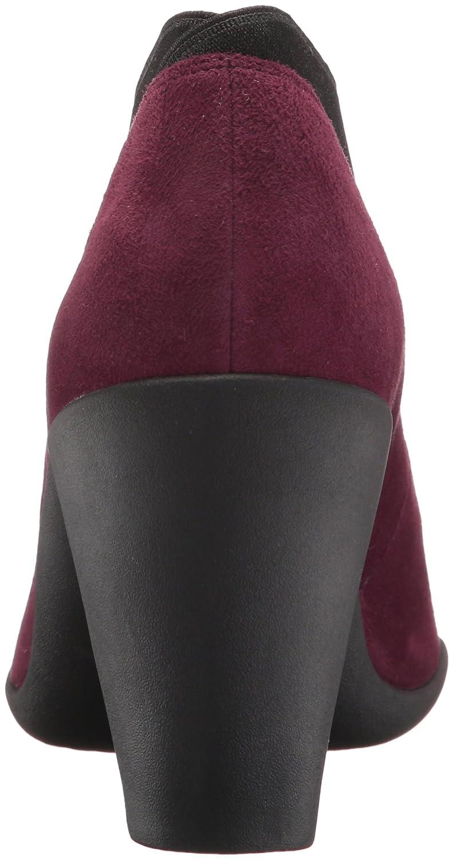 CLARKS Women's Adya Luna Dress Pump B01N6J6ESV 12 B(M) US|Burgundy Suede