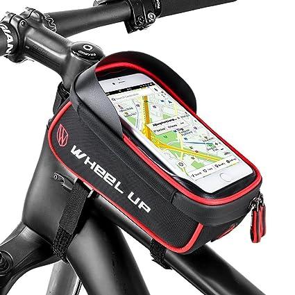 Selighting Bolsa Bicicleta Manillar Impermeable Bolsa Móvil de Bici Montaña BTR Carretera Bolso Delantero de Bicicleta para Teléfono Movil Dentro de ...