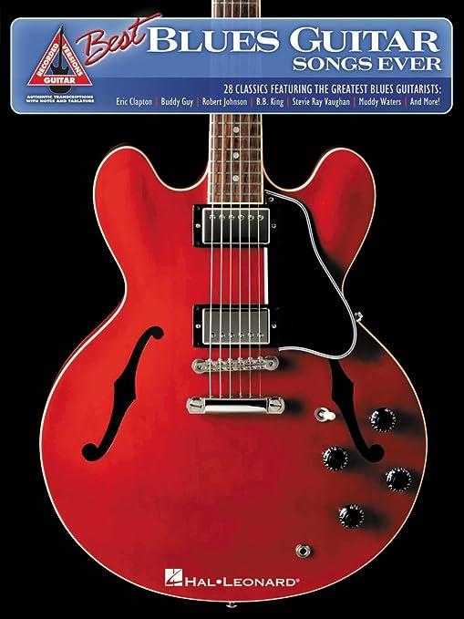 Hal Leonard el mejor Blues Guitar canciones nunca libro de ...