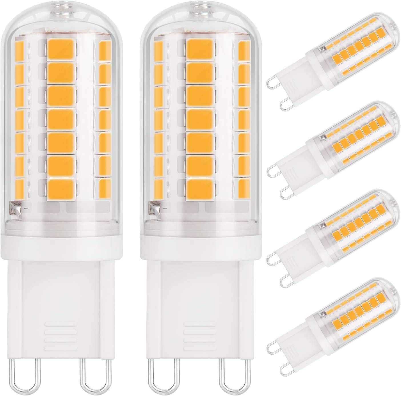 DiCUNO G12 LED Bulb, 12W 12W Halogen Equivalent, Warm White 12K, Bi Pin  Ceramic Base 1230LM 12V, Non Dimmable for Chandelier Pendant Ceiling ...