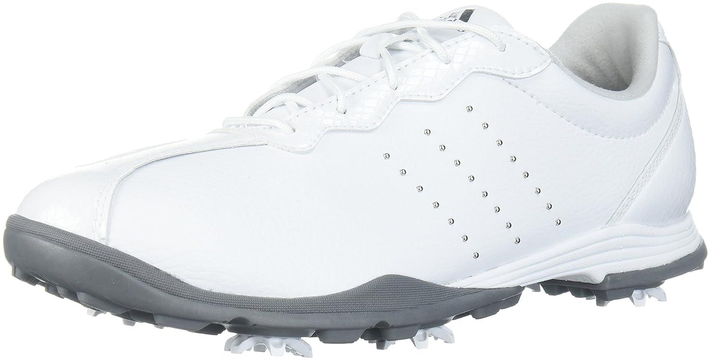 adidas Women's W Adipure DC Golf Shoe B071P94R8F 6.5 B(M) US|Ftwr White/Silver Met./Silver Met.