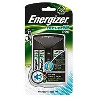 Energizer Chargeur Universel Noir 2 ou 4 AA et AAA 3 Couleurs de LEDs, Livrã sans accu