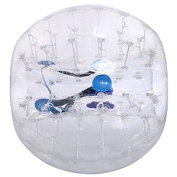 Amazon.com: Cosway pelota hinchable de Bumper TPU ...