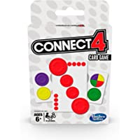 Connect 4 Card Game - 2-4 Players 4 In A Row Game - Perfect for Travel and Trips away - Toys for Kids - Boys and Girls…
