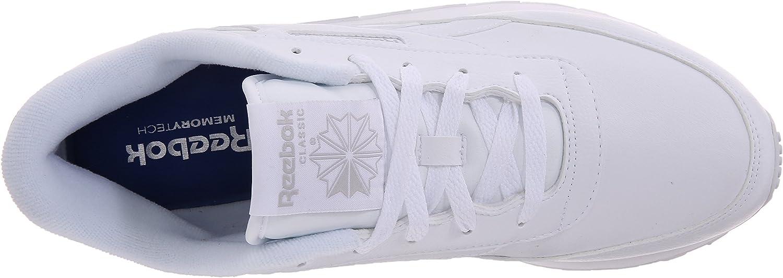 Reebok Classic Renaissance, Zapatos de Caminar para Mujer Us White Steel e3kuf