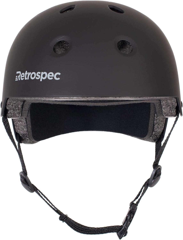 Retrospec cm-2 Classic Commuter Bike//Skate//Multi-Sport Helmet