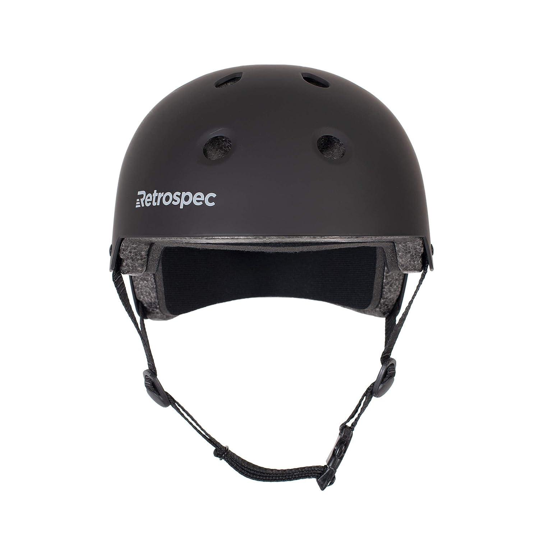 Retrospec CM-2 Bicycle Skateboard Helmet for Adult CPSC Certified Commuter, Bike, Skate