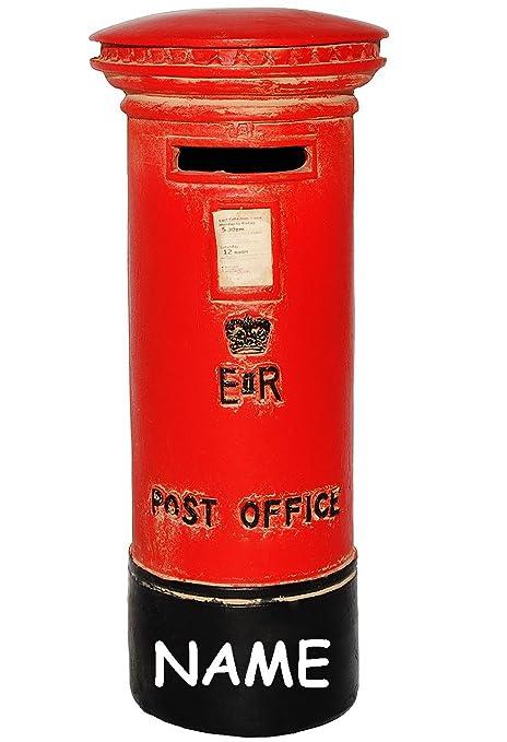 Unbekannt Spardose Englischer Briefkasten British Post Incl