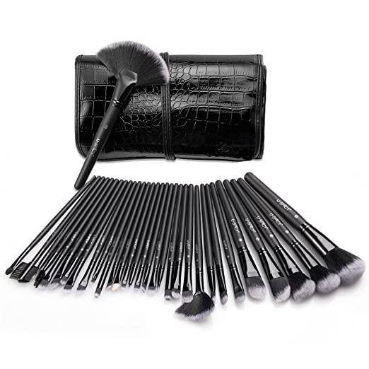 USpicy Make Up Brush Set 32 Pieces