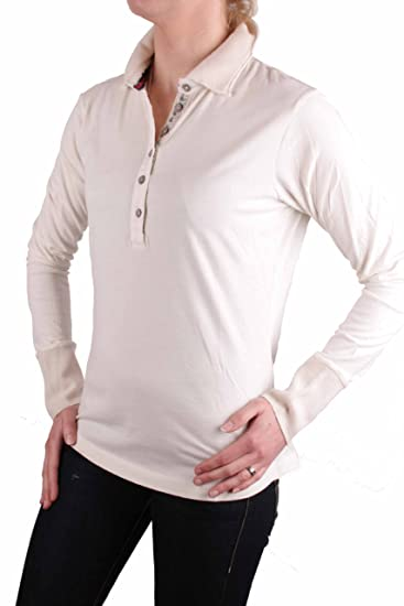 Napapijri Camiseta polo camiseta polo Manga larga Crema Talla XL ...