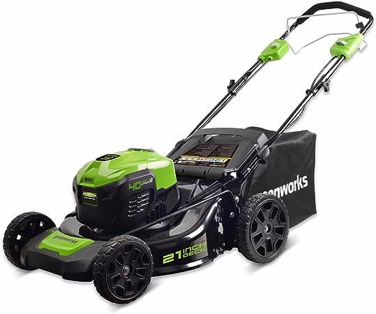 Amazon.com: Greenworks MO40L2512 - Cortacésped eléctrico ...