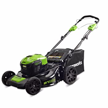 Greenworks M-210-SP Self-Propelled Lawn Mower