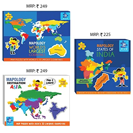 Buy imagimake map puzzle combo india world asia map online at imagimake map puzzle combo india world asia map gumiabroncs Image collections