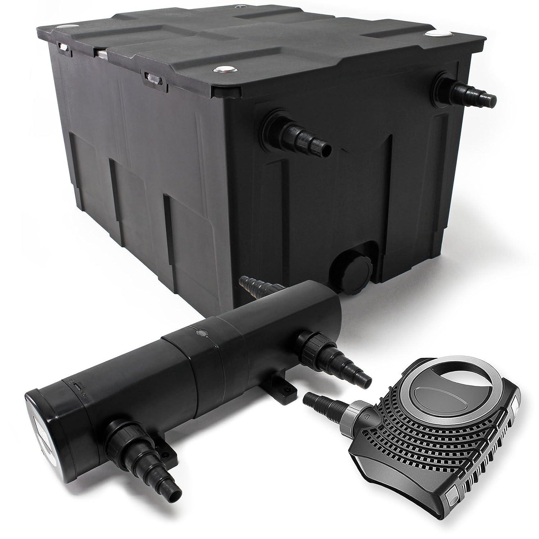 Bio Teichfilter 60000l 36W UVC Teichkl/ärer 80W Teichpumpe Set