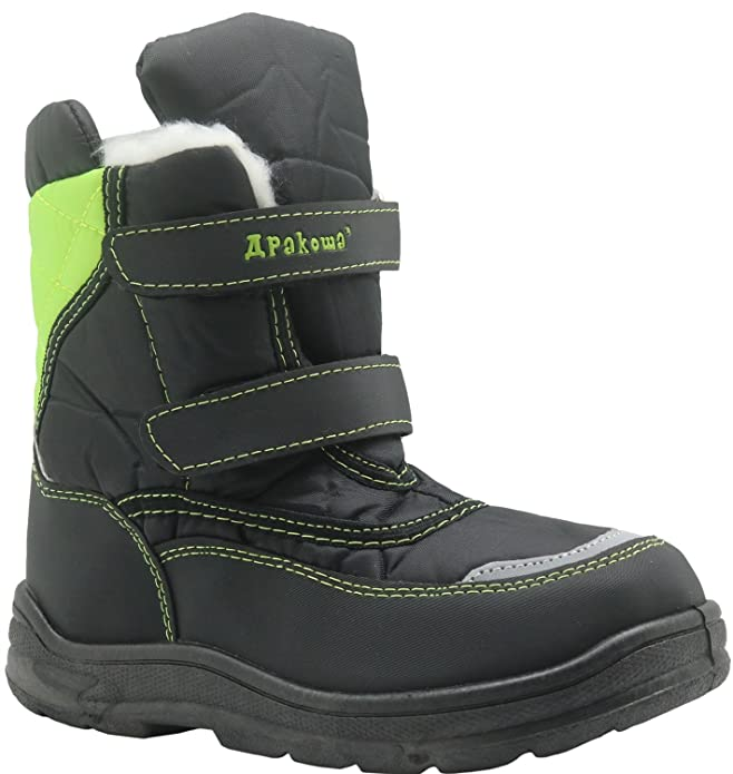 Apakowa Kid's Boys Winter Snow Boots