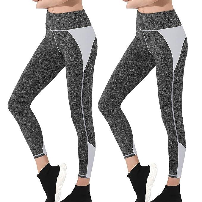 Amazon.com: Wantdo - Leggings deportivos para mujer, suaves ...