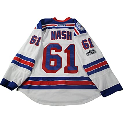 d3aa83475 Rick Nash New York Rangers 2016-2017 Game Used  61 White Jersey w ...