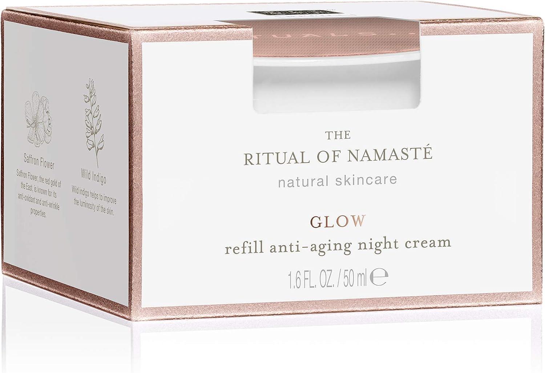 RITUALS The Ritual of Namasté Recarga de crema de noche antiedad colección iluminante, 50 ml