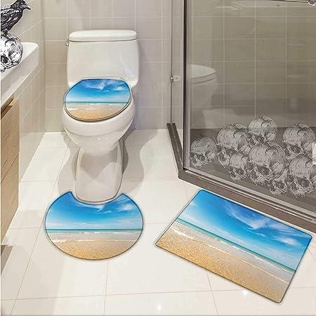 Migaga Ocean Ensemble tapis de salle de bain wc vue ...