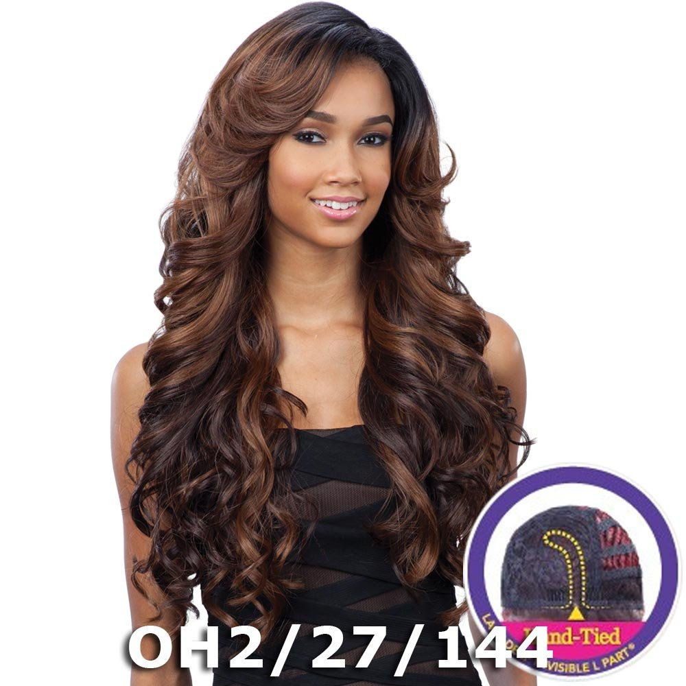Amazon sensationnel instant fashion synthetic wig couture freetress equal lace deep invisible l part lace front wig karissa 1 nvjuhfo Gallery