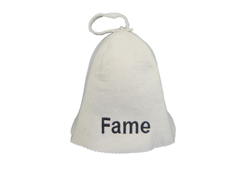 feutrée Casquette sauna Fame/chapeau Bonnet pour sauna