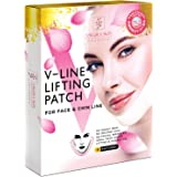 V Line Mask Neck Mask Face Lift V Lifting Chin Up Patch Double Chin Reducer Neck Lift V Up Contour Tightening Firming…