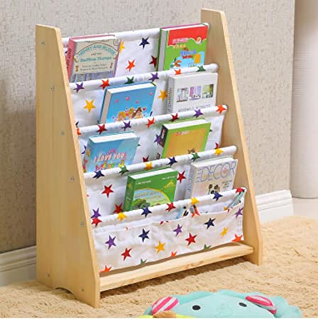 Baby Bookshelf Childrens Bookcase Nursery Figure Child Household Simple Picture Frame Cartoon Toy Storage Rack