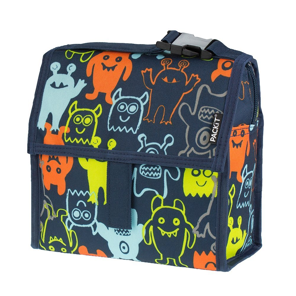 PackIt Freezable Mini Lunch Bag, Monsters