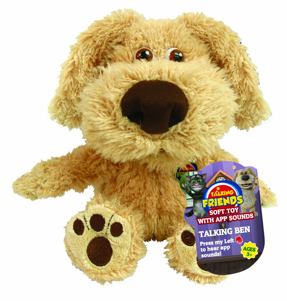 Amazon Com Talking Friends 10 Inch Talking Ben Touch And Talk Plush