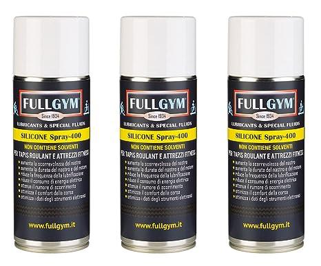 Silicona Spray - N. 3 botes de 400 ml: Amazon.es: Deportes y aire ...